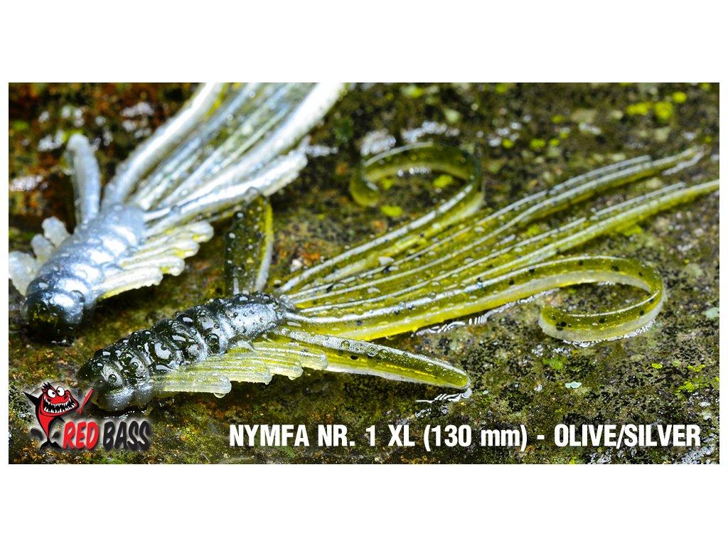 nymfa vel xl olive silver