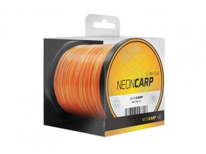 FIN kaprařský vlasec NEON CARP 300m / žluto-oranžová