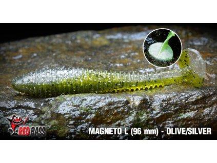 magneto l olive silver