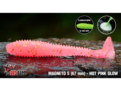 magneto s hot pink glow new
