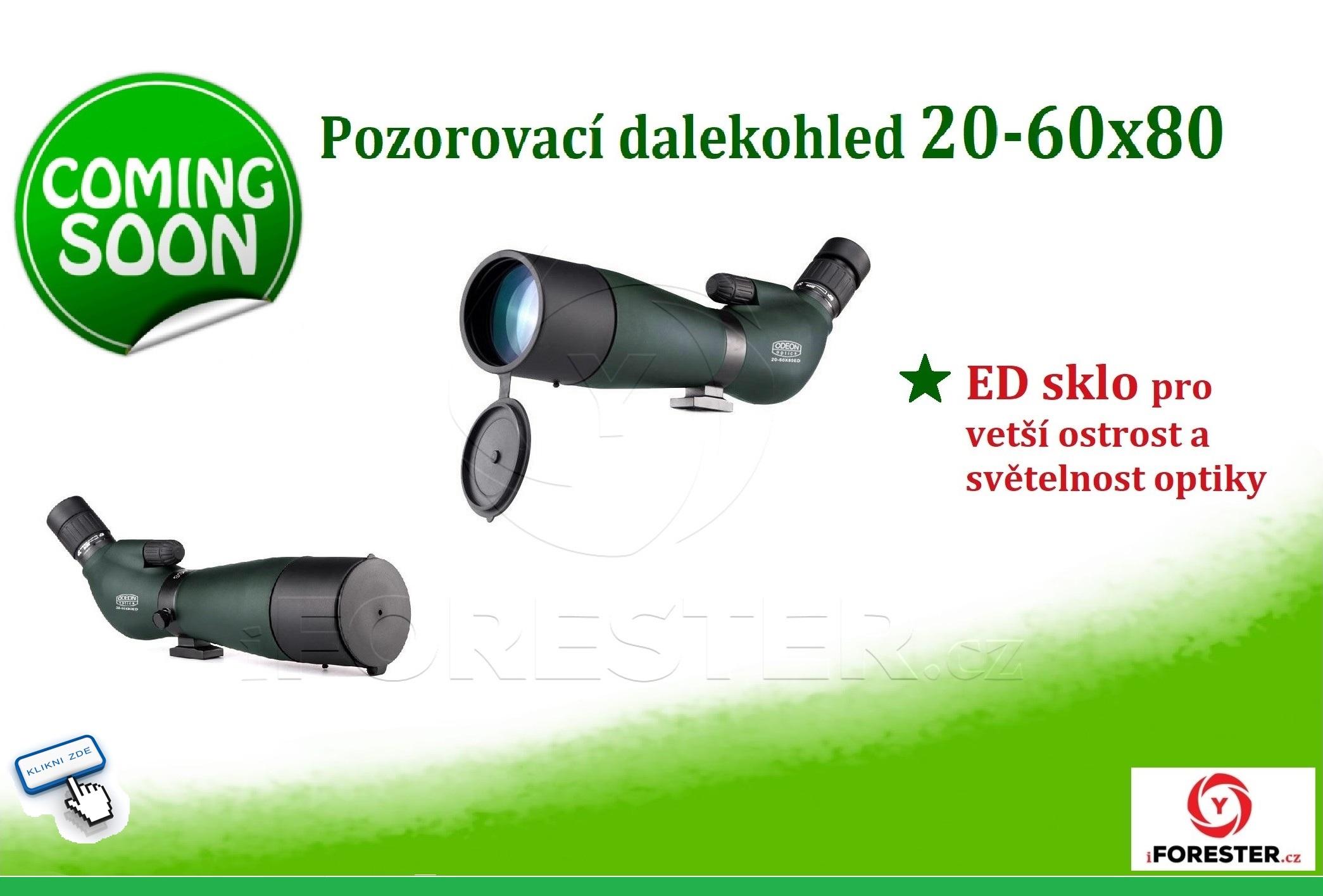 pozorovací dalekohled 20-60x80