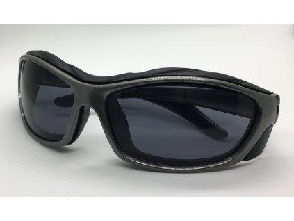 Střelecké sluneční brýle šedé