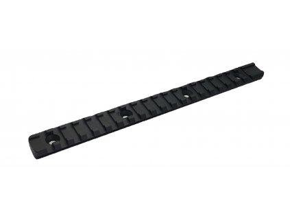 WEAVER picatinny montážní lišta - 220 mm