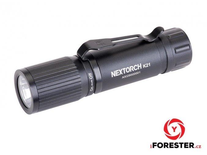 Mini svítilna Nextorch K21 - 160 Lm, 3 světelné režimy