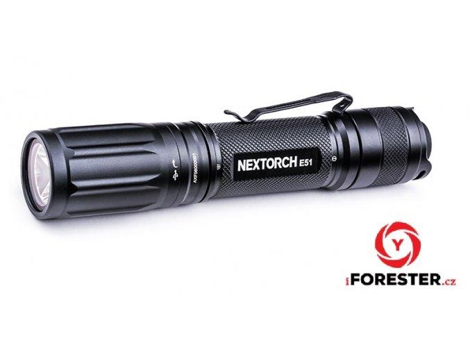 Svítilna Nextorch E51 (2019) - 1400 Lumenů, 5 světelných režimů
