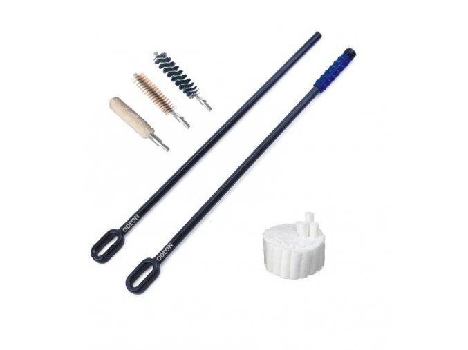Sada pro čištění zbraní ODEON - dvě čistící tyčky (9mm, .40, .45)