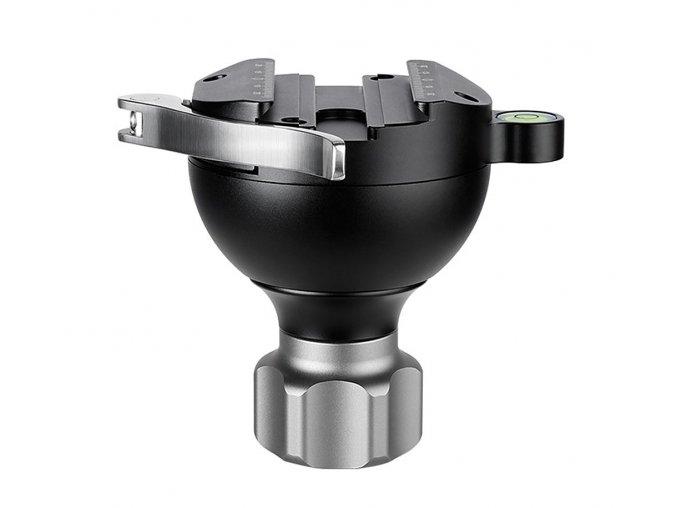 Leofoto YB 75SC semiesfera 75mm Arca Swiss en aluminio