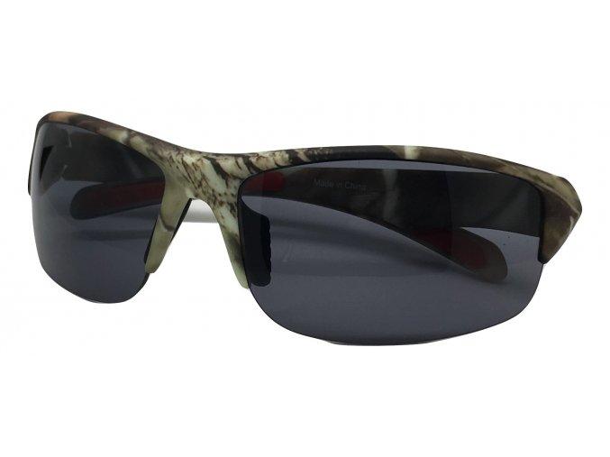 Střelecké balistické sluneční brýle kamufláž
