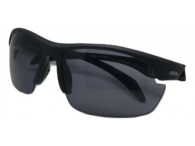 Střelecké balistické sluneční brýle černé