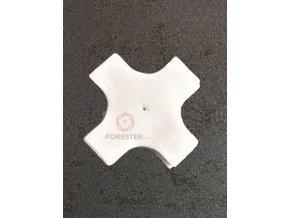 Bavlněné čistící hadříky ODEON pro ráže .22 - 6 mm - Křížek - 1000 Ks