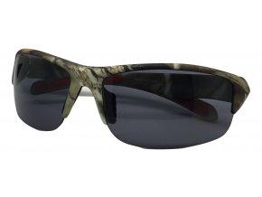 Střelecké sluneční brýle kamufláž