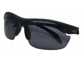 Střelecké sluneční brýle černé