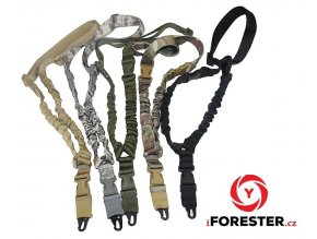 USA Tactical Hunting Gun Sling Adjustable 1 Single Point Bungee Rifle Sling Strap System Free Shipping.jpg 640x640