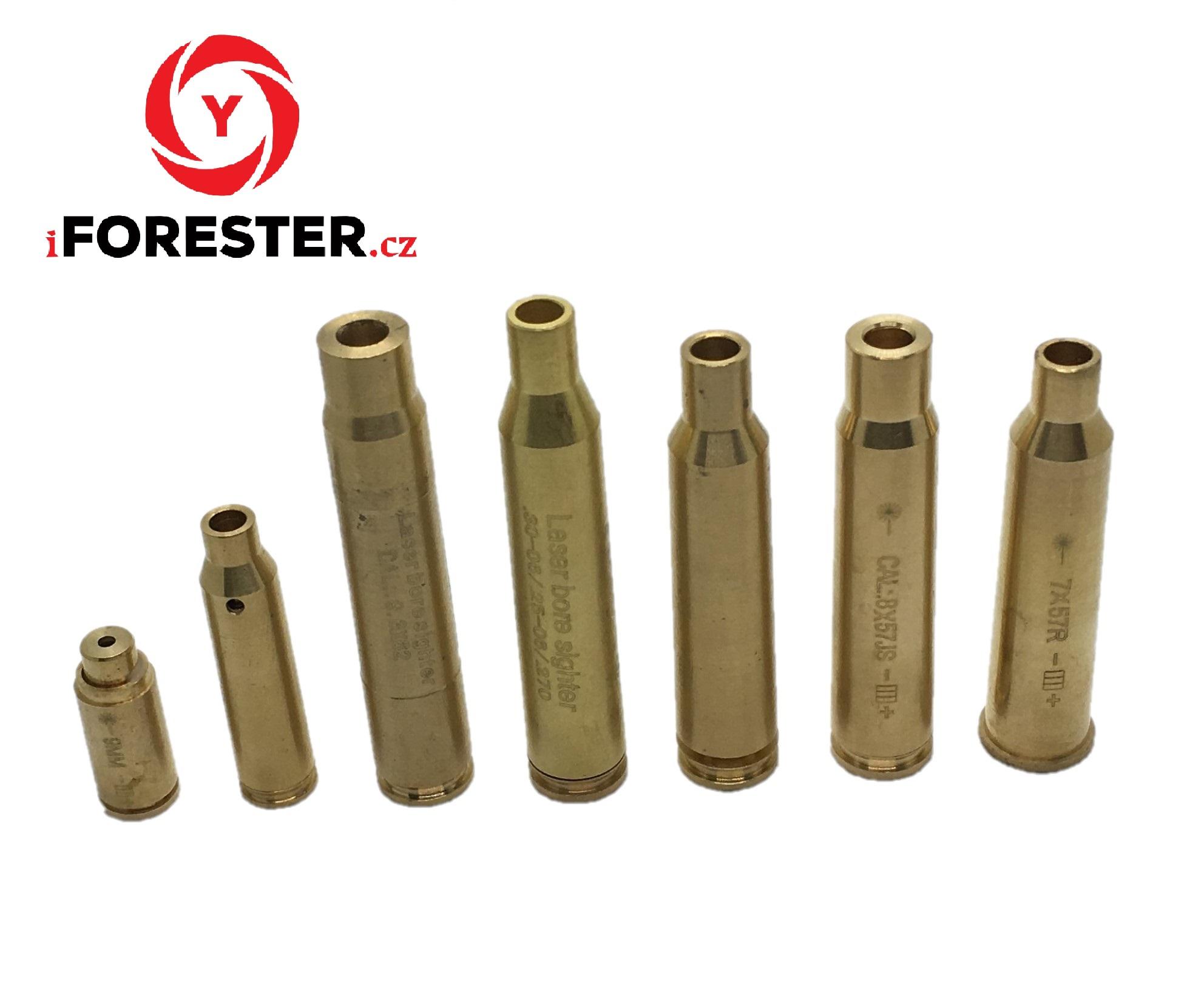 Laser náboj na nastřelení (více variant) Ráže: .30-06 / .25-06 / .270 WIN