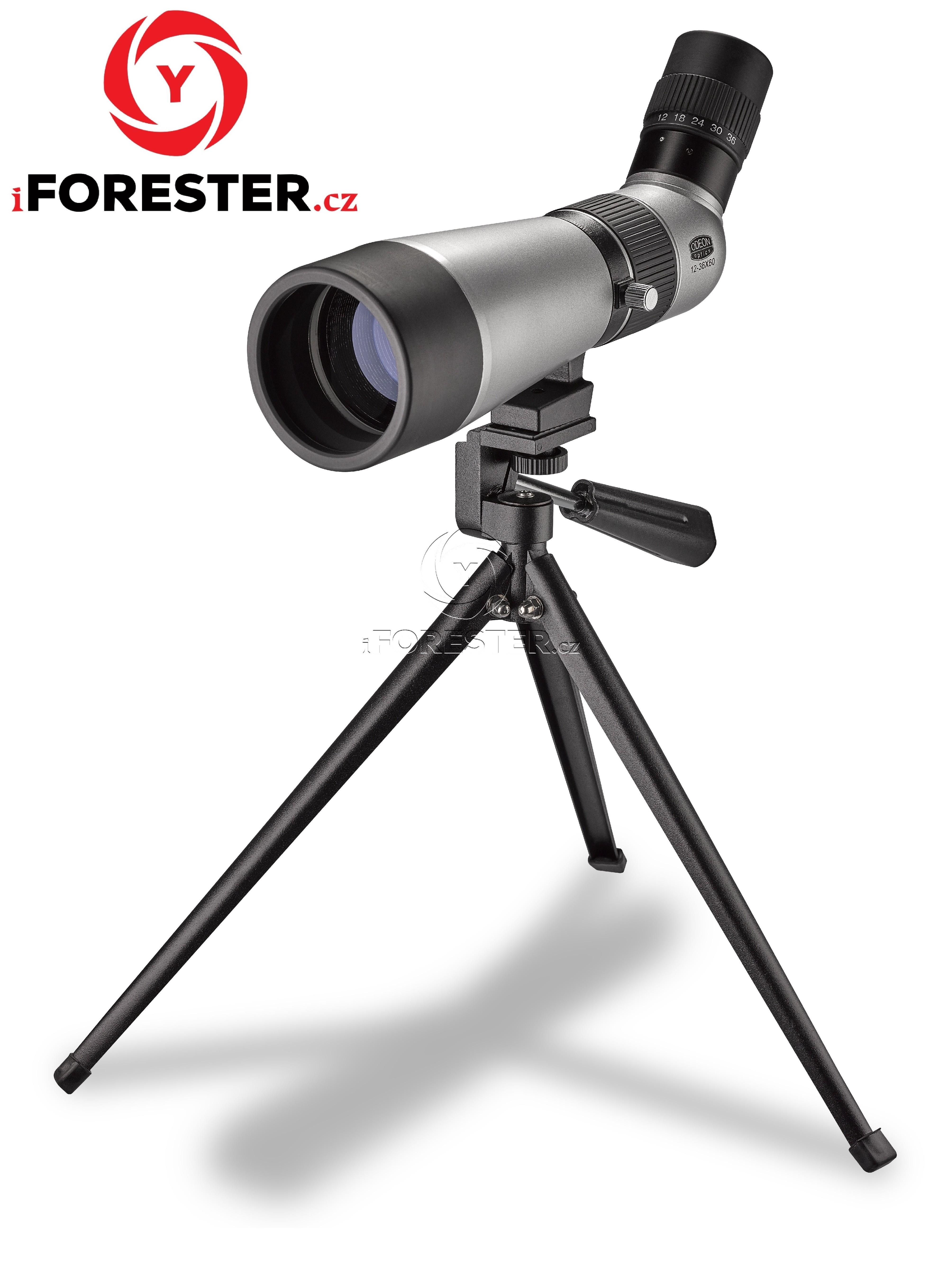Monokulární pozorovací dalekohled ODEON 12-36x60