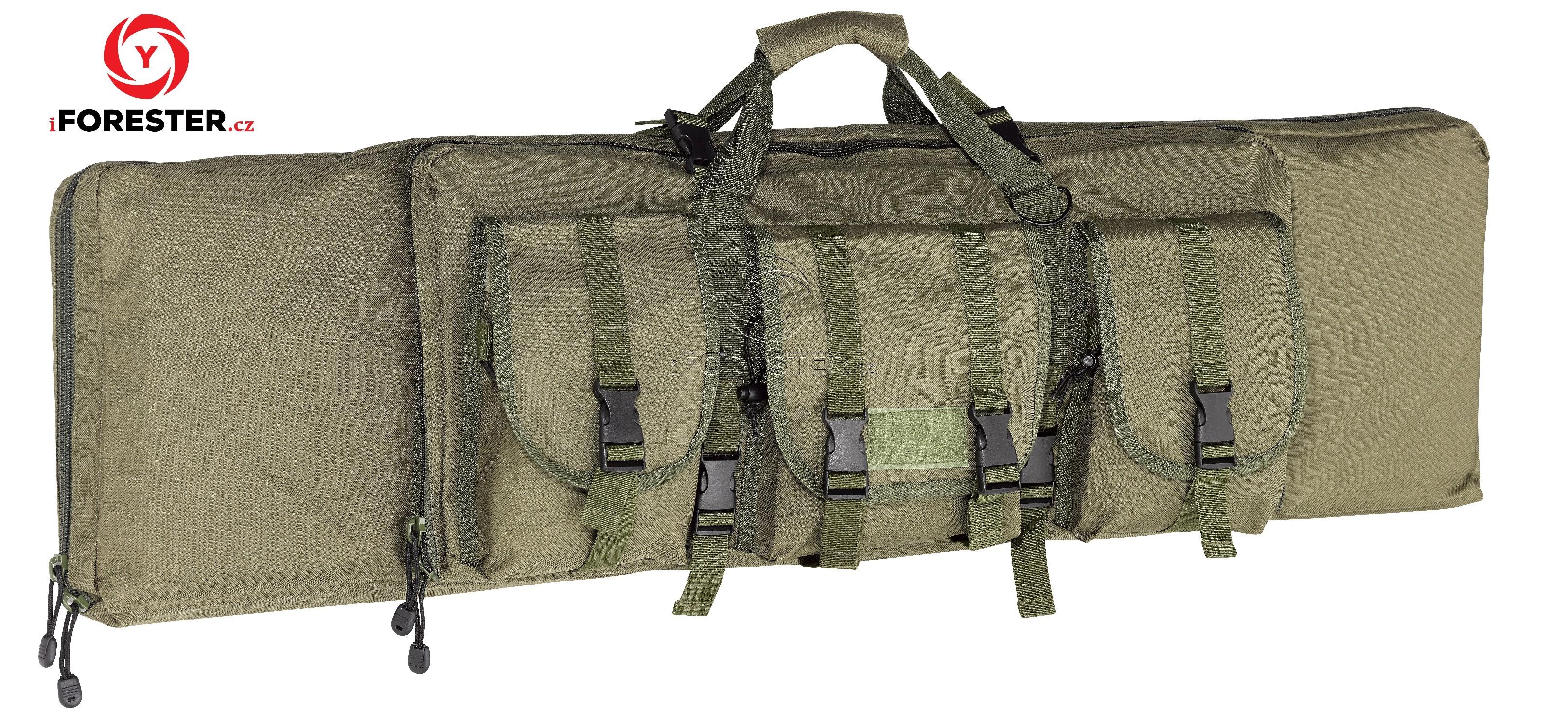 Pouzdro Tactical na dlouhou zbraň 127x25,5cm (zelená, černá) Barva: Zelená