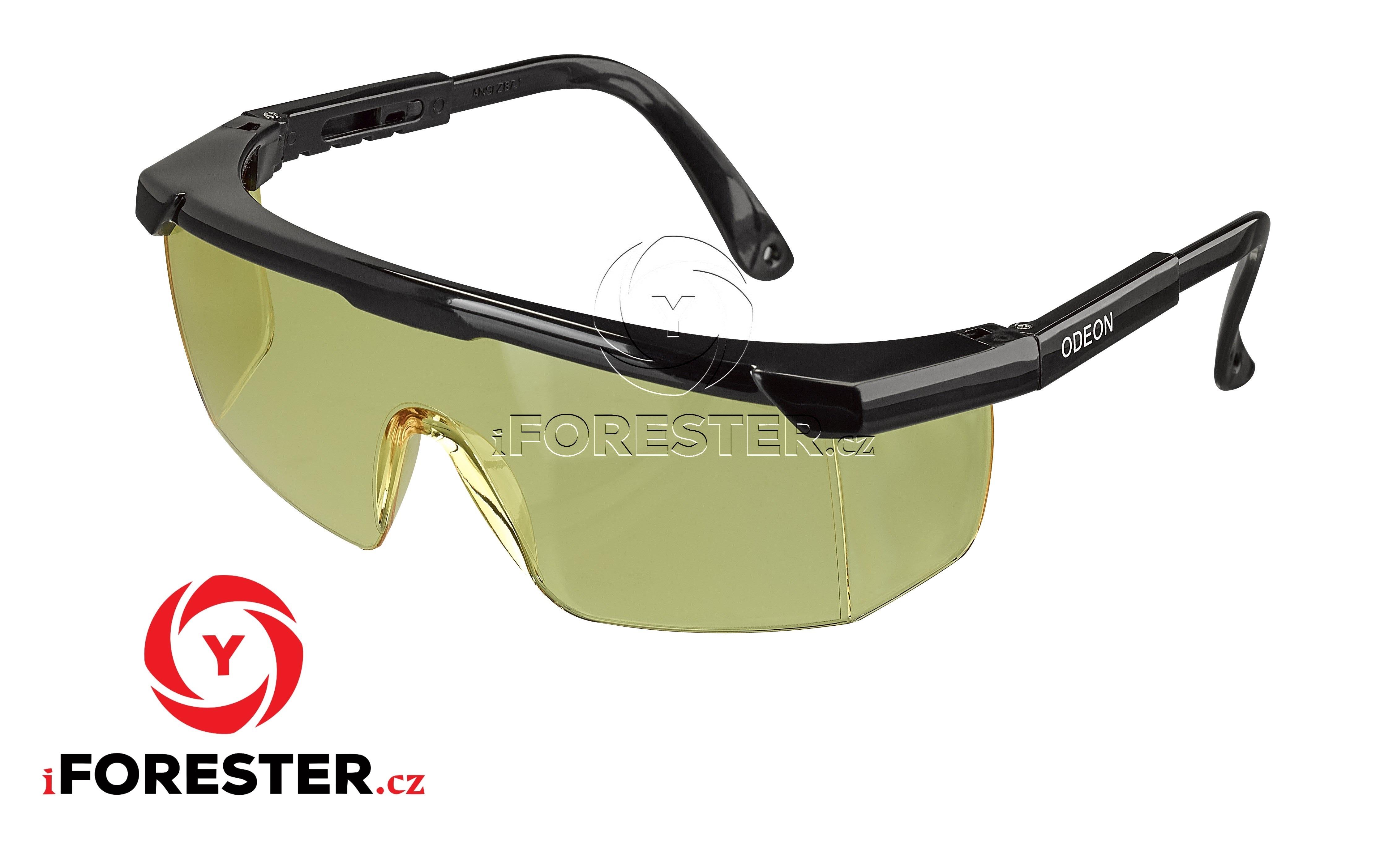e1a4ebc08 Ochranné střelecké balistické brýle – Žluté, Čiré (modré obroučky, černé  obroučky) Barva