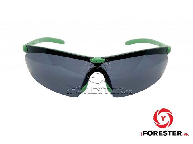 zelené černá skla