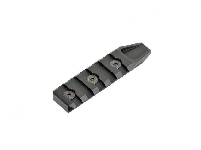 Picatinny lišta pre Key-Mod 5 slotov