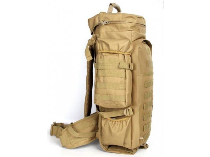 Batoh Tactical s puzdrom na dlhú zbraň