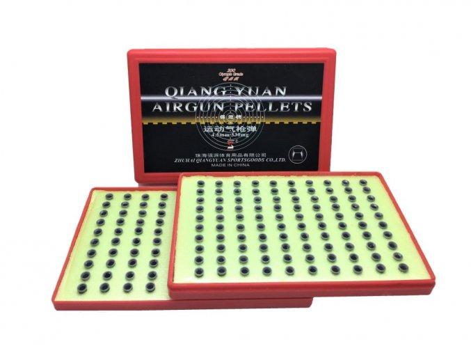 Diabolky Qiang Yuan Excellent 4,5mm - terčovej 200ks (excelentná presnosť)