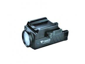 Taktická baterka na zbraň - TRUST FIRE GM23 - 800 lumenov