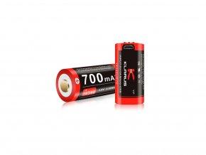 Dobíjecí lítium-iónové batérie Klarus 16GT-70UR - 700 MAH