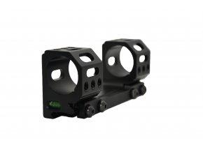 Jednodílná předsazená montáž s vodováhou - duralová odlehčená  - speciálně pro sport - 30 mm (Velikost Střední - 30,10 mm)
