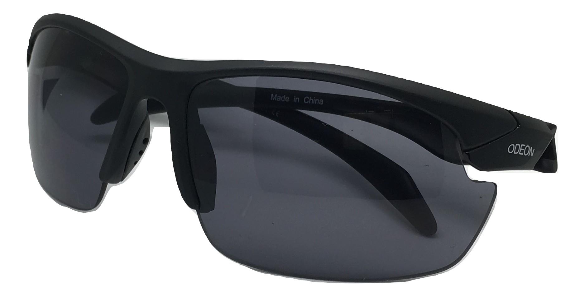 Strelecké balistické slnečné okuliare čierne