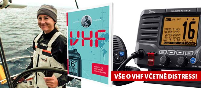 VHF, kompletní průvodce pro jachtaře