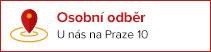 Osobní odběr na Praze 10