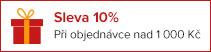 Sleva 10% při objednávce nad 1 000 Kč