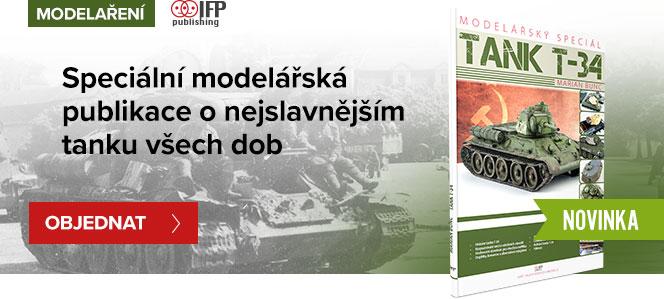Kniha o modelu tank T-34 - Marian Bunc