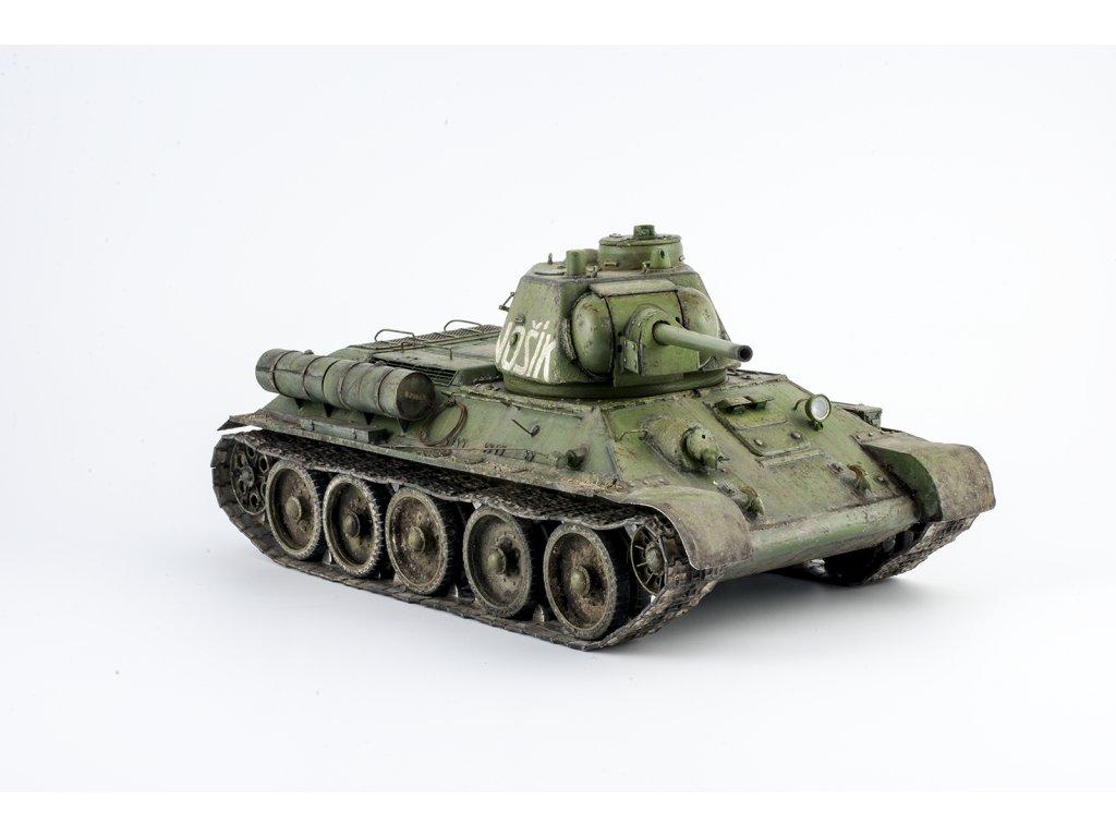 Kniha Pro Modelare Tank T 34 Marian Bunc Nakladatelstvi Ifp
