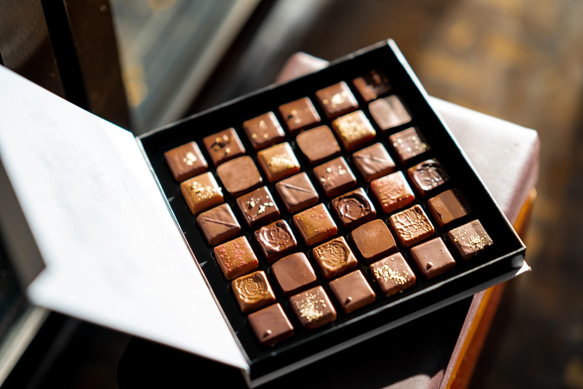 Čokoláda a bonboniery