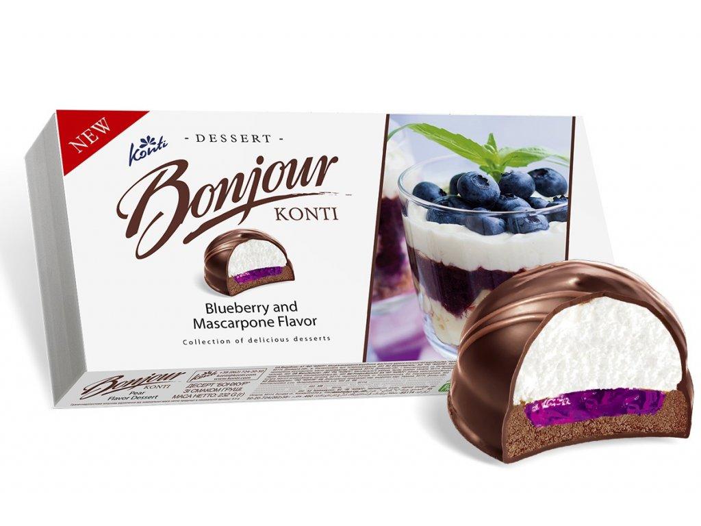 bonjour blueberry mascarpone 232