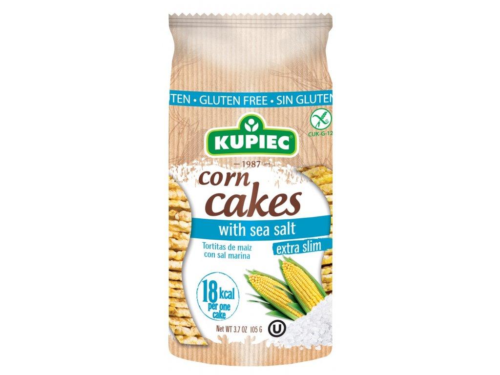 Corn cakes with sea salt 105g (new version)