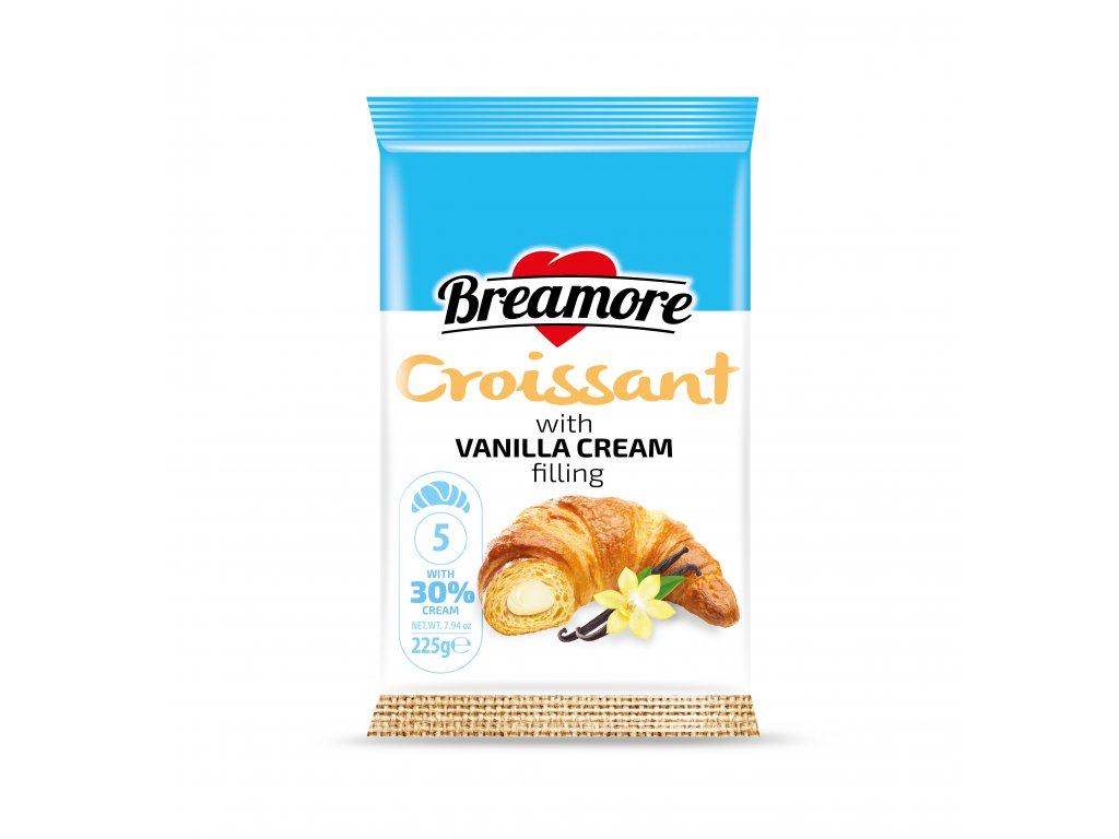 breamore croissant 5pcs vanilla