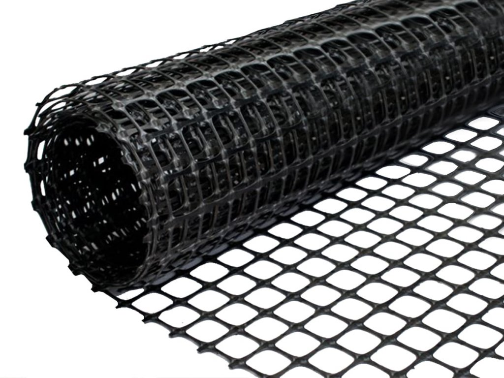Geonetz schwarz