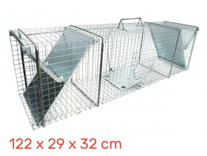 Lapač pastí na lišku 122 x 29 x 32 cm