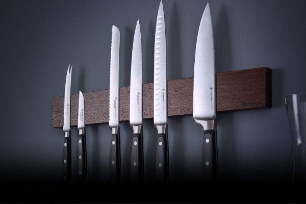 Jak skladovat kuchyňské nože?