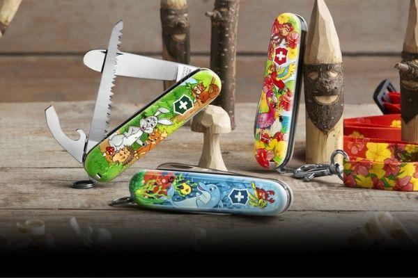 Novinka: Nožík pro děti plný barev