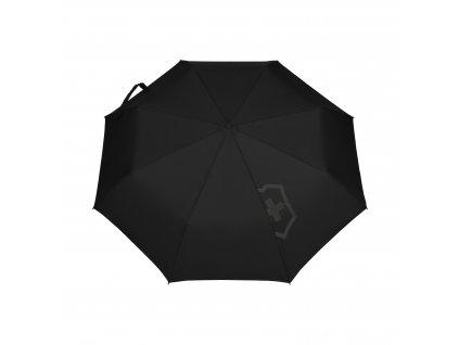 Automatický deštník TA Edge Duomatic Umbrella černý  VICTORINOX