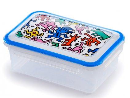 Dóza na potraviny Keith Haring 1,1l  GIOSTYLE