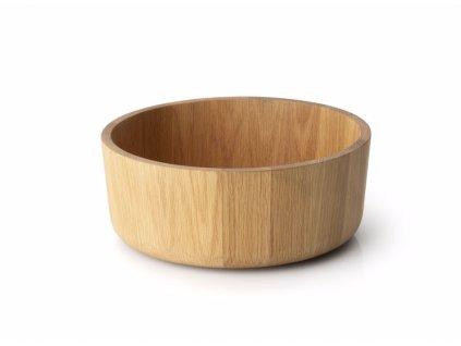 Servírovací mísa z dubového dřeva 26cm
