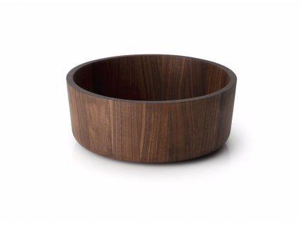 Servírovací mísa z ořechového dřeva 26cm