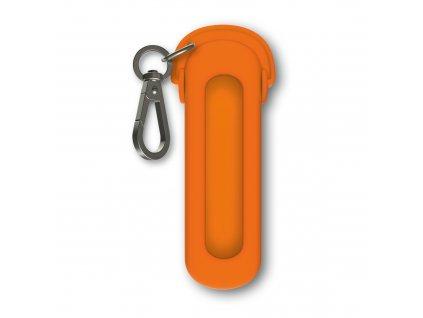 Silikonové pouzdro pro kapesní nůž Classic Headphones, Mango Tango
