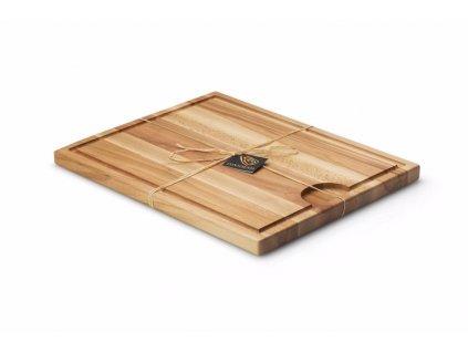 Deska na krájení z bukového dřeva 42cm