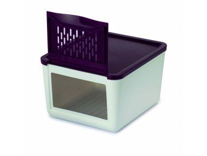 Box na uchovávání cibule/zeleniny bílý  Snips