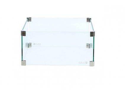 Čtvercový skleněný set M  COSI